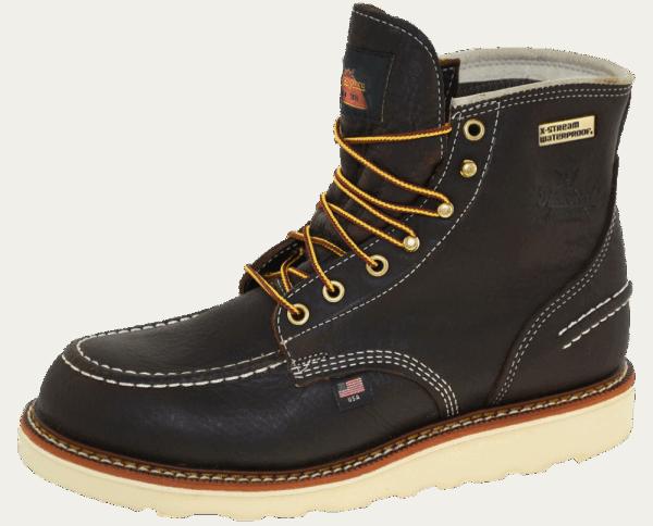 """Thorogood 814-3600 6"""" Moc Toe Waterproof Brown"""