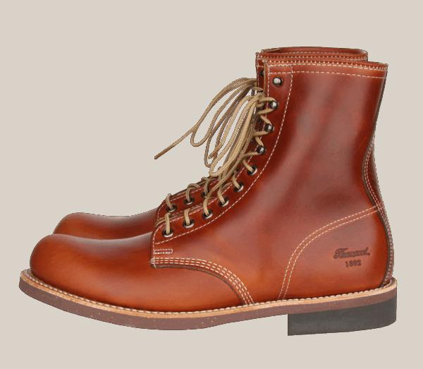 Thorogood 1892 Tomahawk 814-4107 Cognac Horween