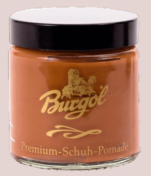 Burgol Premium Schuh Pomade, cognac - 01
